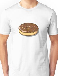 Chocolate Donut with Sprinkles Unisex T-Shirt