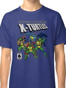 X-Turtles, Mutants in a half shell (Colab with RPAdame) Classic T-Shirt