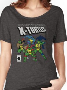 X-Turtles, Mutants in a half shell (Colab with RPAdame) Women's Relaxed Fit T-Shirt