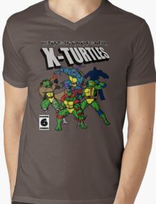 X-Turtles, Mutants in a half shell (Colab with RPAdame) Mens V-Neck T-Shirt