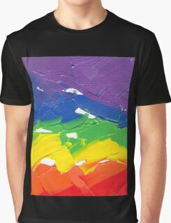 "Energetic Abstractions - ""Colour Splash"" Graphic T-Shirt"