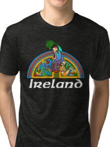 Ireland - Arch Illumination I Tri-blend T-Shirt