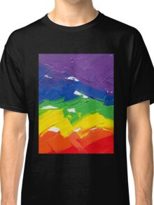 "Energetic Abstractions - ""Colour Splash"" Classic T-Shirt"