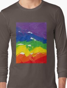 """Energetic Abstractions - """"Colour Splash"""" Long Sleeve T-Shirt"""
