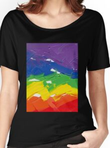 "Energetic Abstractions - ""Colour Splash"" Women's Relaxed Fit T-Shirt"