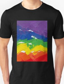"Energetic Abstractions - ""Colour Splash"" Unisex T-Shirt"