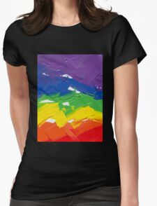 """Energetic Abstractions - """"Colour Splash"""" Womens Fitted T-Shirt"""