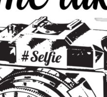 But first, let me take a #Selfie Sticker