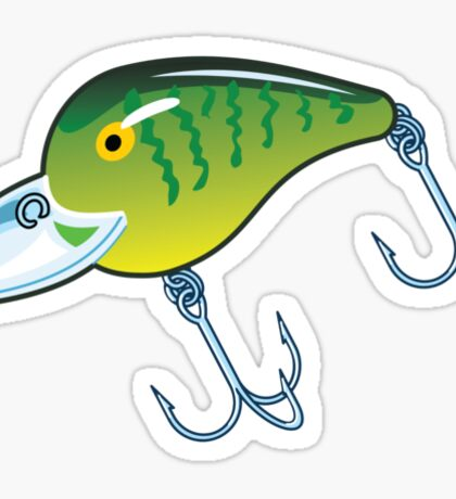 Fishing Lure Sticker
