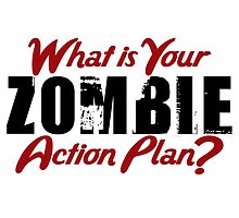 Zombie Action Plan by anabellstar