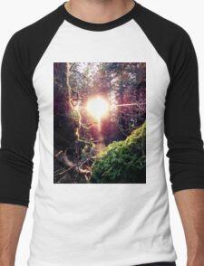 magic forest Men's Baseball ¾ T-Shirt