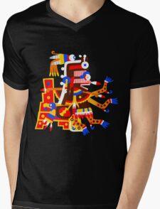 Itzpapalotl Mens V-Neck T-Shirt