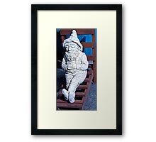 Dwarf Sunbathing Framed Print