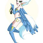 My Little Pin Up- Fleetfoot by LillyKitten