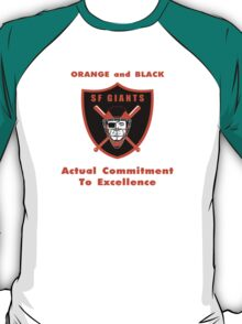 Actual Commitment  To Excellence T-Shirt