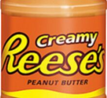 Reese's Creamy Peanut Butter Sticker