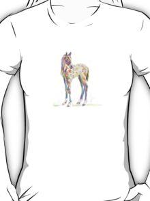 cute t-shirt foal paint T-Shirt