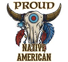 Proud Native American Photographic Print