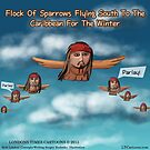 Jack Sparrow Flies South For Winter by Rick  London