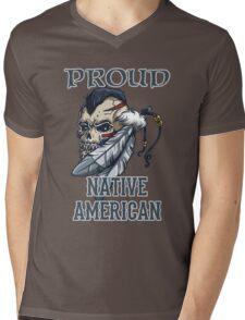 Proud Native American Mens V-Neck T-Shirt