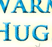 Free Warm Hugs Sticker