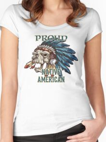 Proud Native American Women's Fitted Scoop T-Shirt