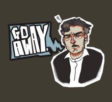 Go Away - CHARLIE BROOKER T-Shirt