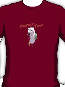 courage the cowardly adventurer T-Shirt