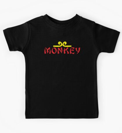 MONKEY with headband Kids Tee