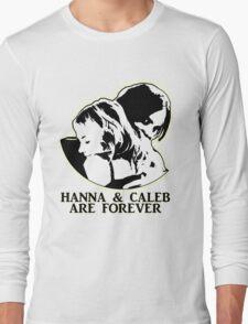 HANNA & CALEB/HALEB FOREVER! Long Sleeve T-Shirt