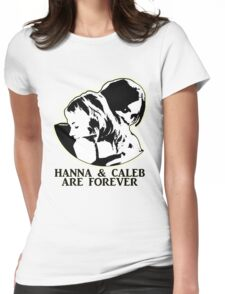 HANNA & CALEB/HALEB FOREVER! Womens Fitted T-Shirt