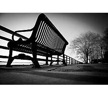 The Empty Bench Photographic Print