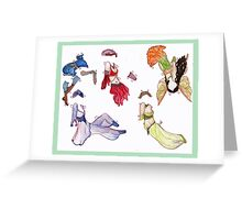 Cricket McCreary Paper Doll p.2 Greeting Card