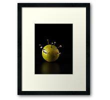 I Hate Fruit - Lime Framed Print