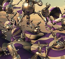 Bouncing Bots by Syd Baker