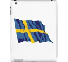 Sweden Flag iPad Case/Skin