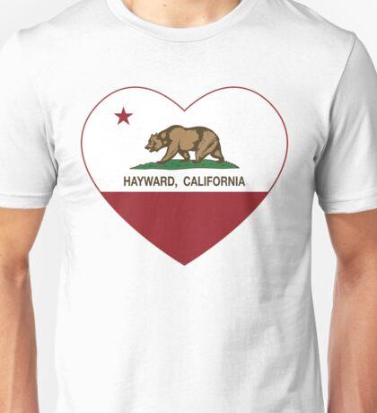 Hayward California Love Heart  Unisex T-Shirt