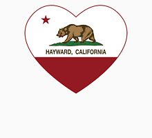 Hayward California Love Heart  Unisex T-Shirt