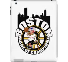 Boston Made of Champions iPad Case/Skin