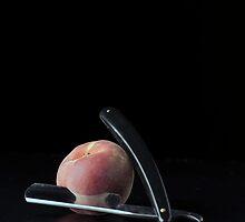 I Hate Fruit - Peach by Alan Organ