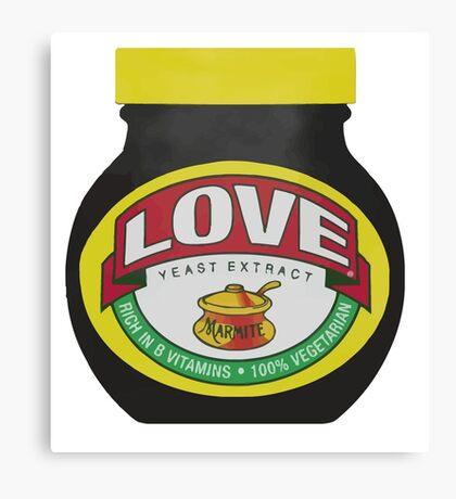 Marmite Love Canvas Print