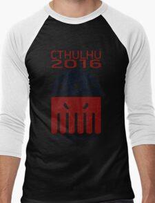 Cthulhu 2016 Men's Baseball ¾ T-Shirt