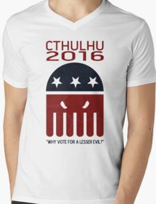 Cthulhu 2016 Mens V-Neck T-Shirt