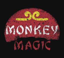 MONKEY MAGIC (distressed) One Piece - Short Sleeve