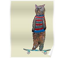 the cat skate  Poster