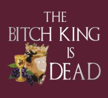 Joffrey, the bitch king, is dead - game of thrones by FandomizedRose