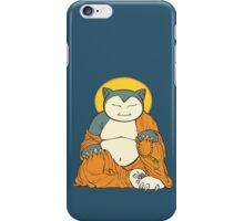 Hotei Snorlax iPhone Case/Skin