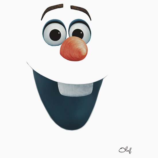 "Olaf Face"" T-Shirts & Hoodies by astchipmunk 