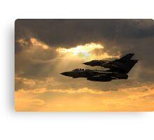 Tornado Role Demo Canvas Print