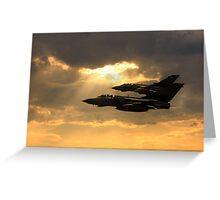 Tornado Role Demo Greeting Card